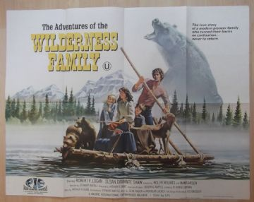 Adventures of the Wilderness Family (1975) Film Poster - UK Quad